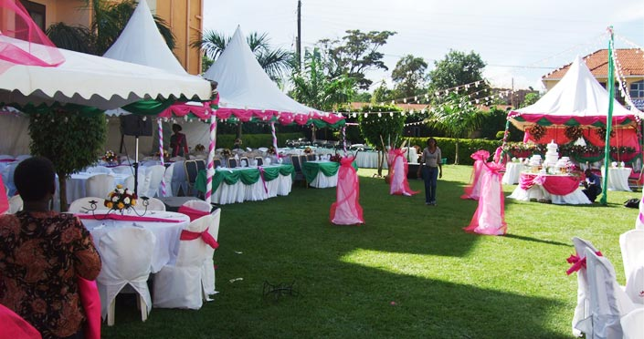City Royal Hotel Kampala Offers You A Social Venue Of Choice With Prestigious Wedding Offering Extensive Grounds Private Garden Arena
